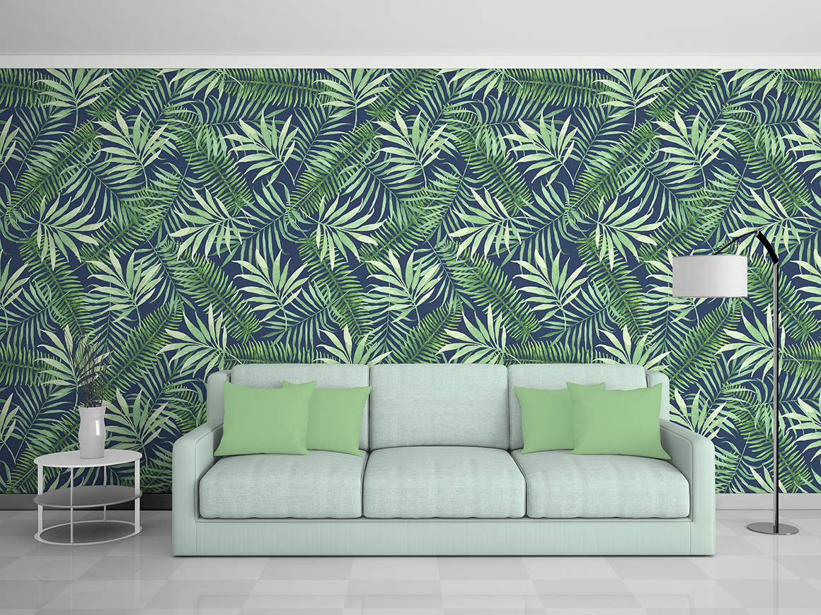 Tropical designs in watercolor