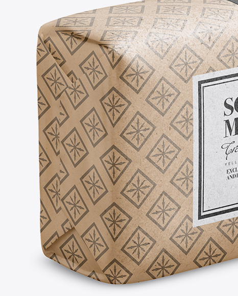 Download Matte Soap Package Mockup Half Side View PSD - Free PSD Mockup Templates