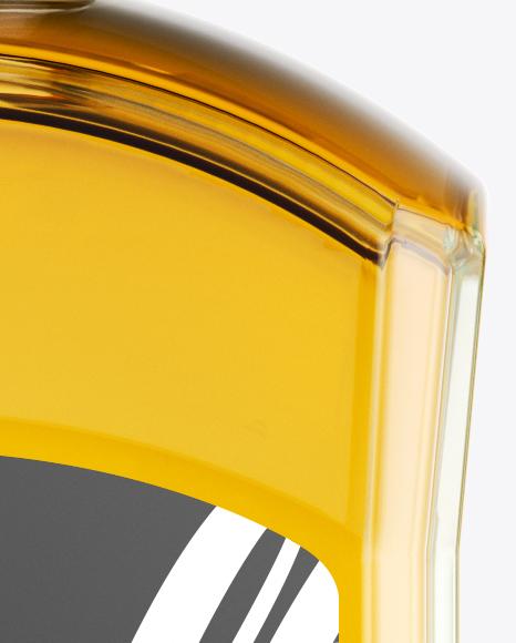 Blank Whiskey Bottle Mockup