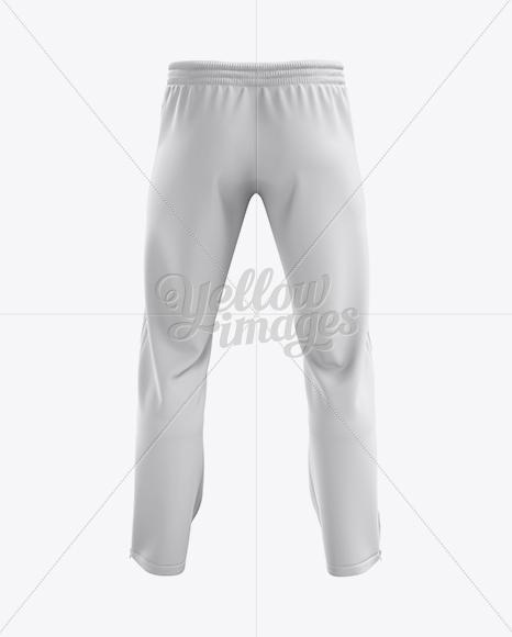 Sport Pants Mockup - Back View