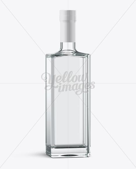 Vodka Bottle Mockup Psd