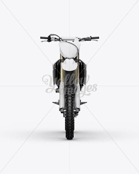 Kawasaki KX 250F Mockup Front View