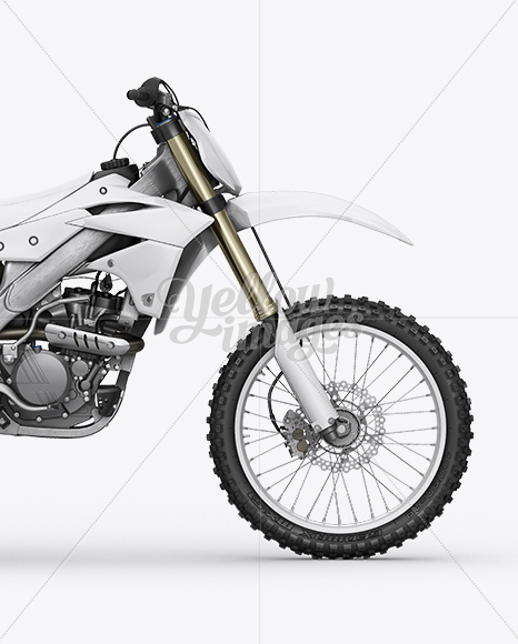 Kawasaki KX 250F Mockup Right Side View