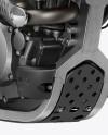 Kawasaki KX 250F Mockup Front 3/4 View