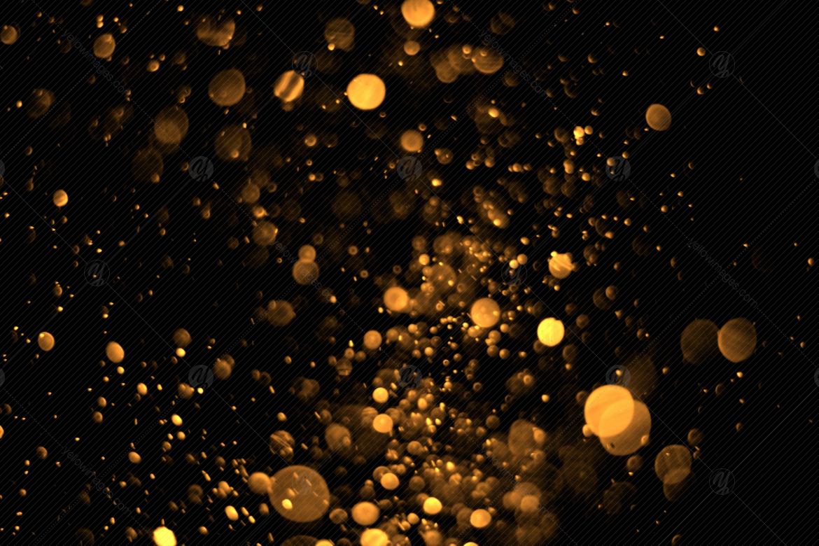 Bokeh Overlays V1 in Graphics on Yellow Images Creative Store