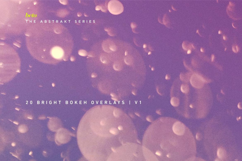 Bright Bokeh Overlays V1