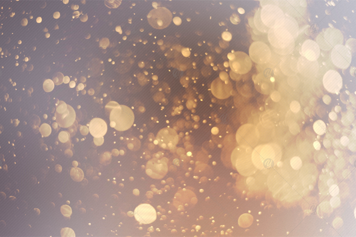 Bright Bokeh Overlays V1 in Graphics on Yellow Images Creative Store