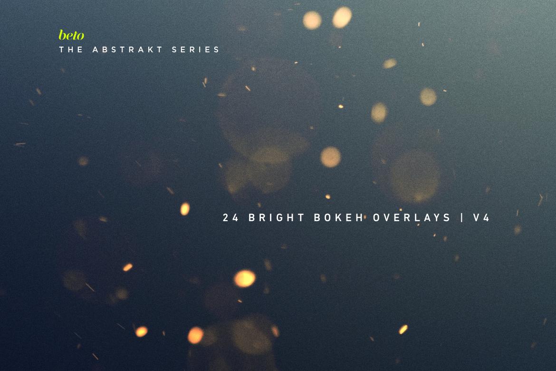 Bright Bokeh Overlays V4