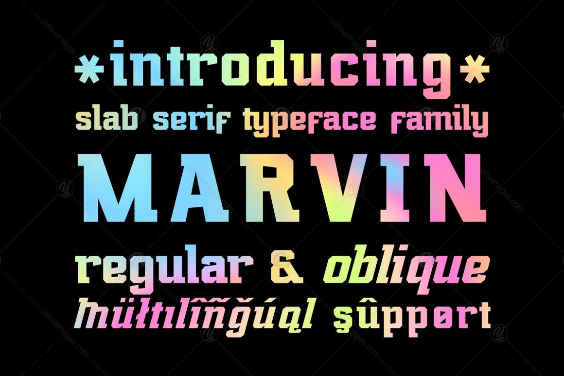 Marvin regular and oblique