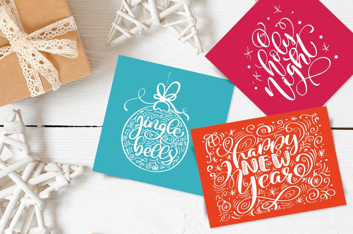 Christmas Lettering Phrases