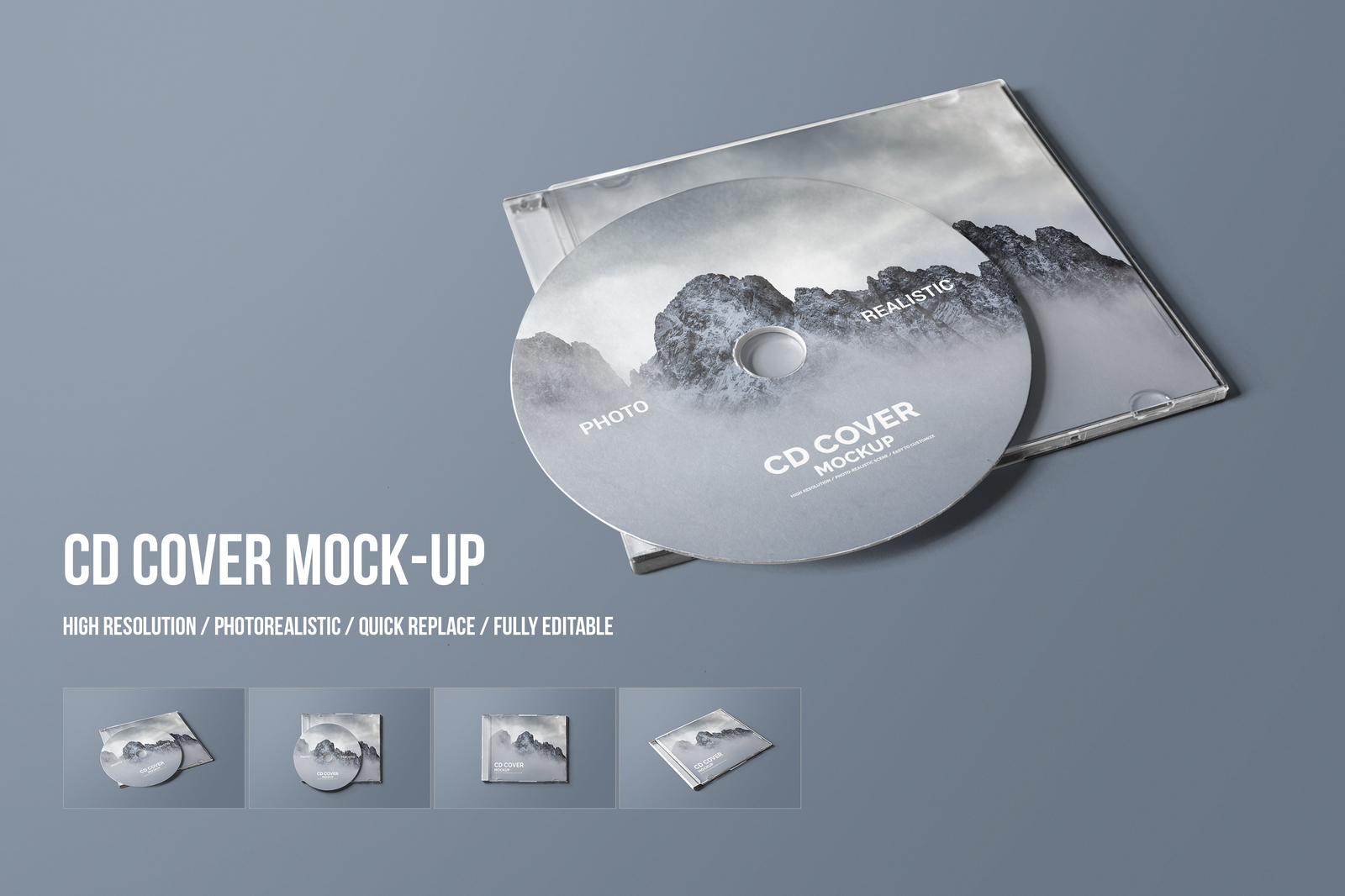 Download Cd Cover Mockup In Packaging Mockups On Yellow Images Creative Store