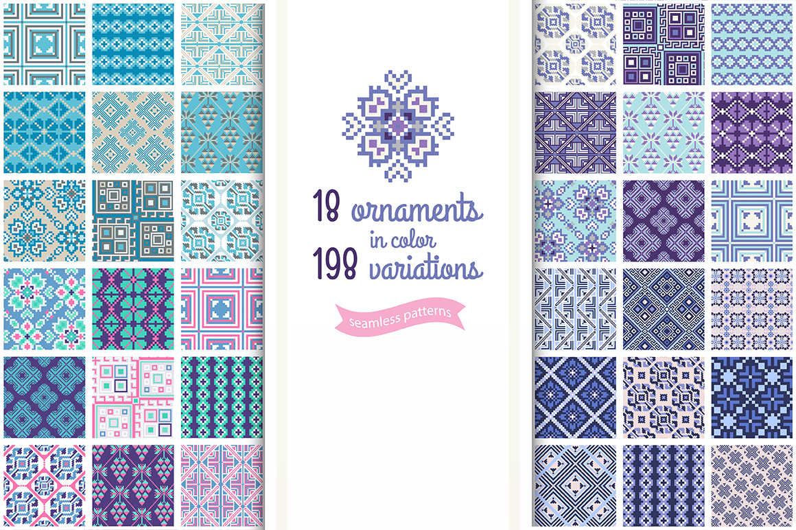 Flora&Geometry 198 Ornaments