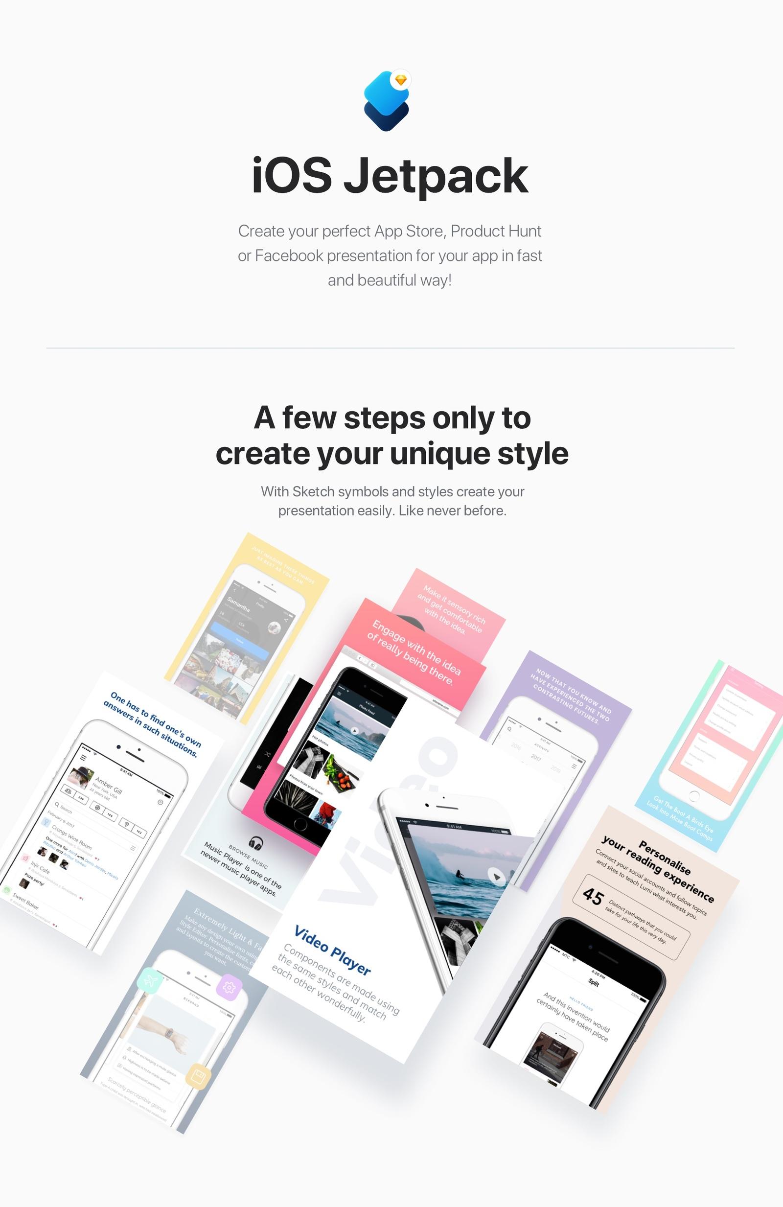 iOS Jetpack Templates