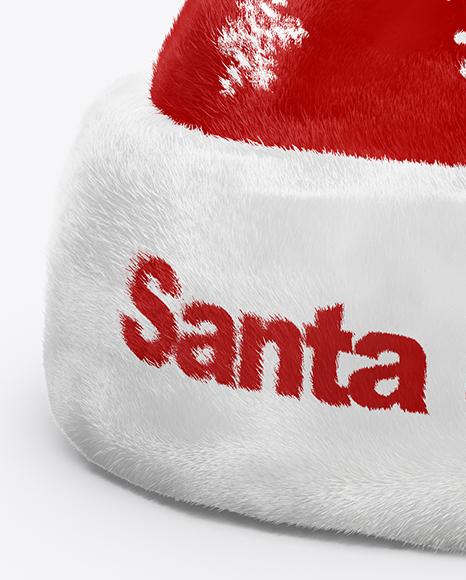 Santa's Hat Mockup