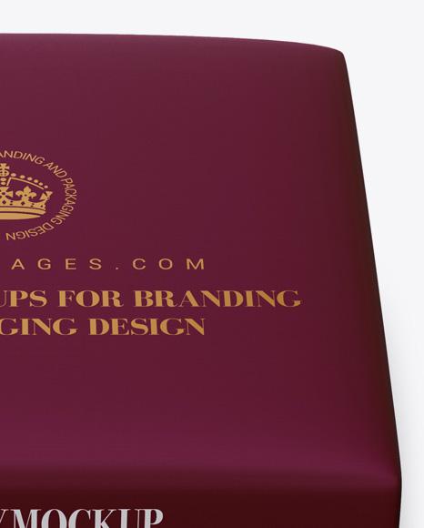 Download Matte Cream Tube Paper Box Mockup High Angle Shot PSD - Free PSD Mockup Templates