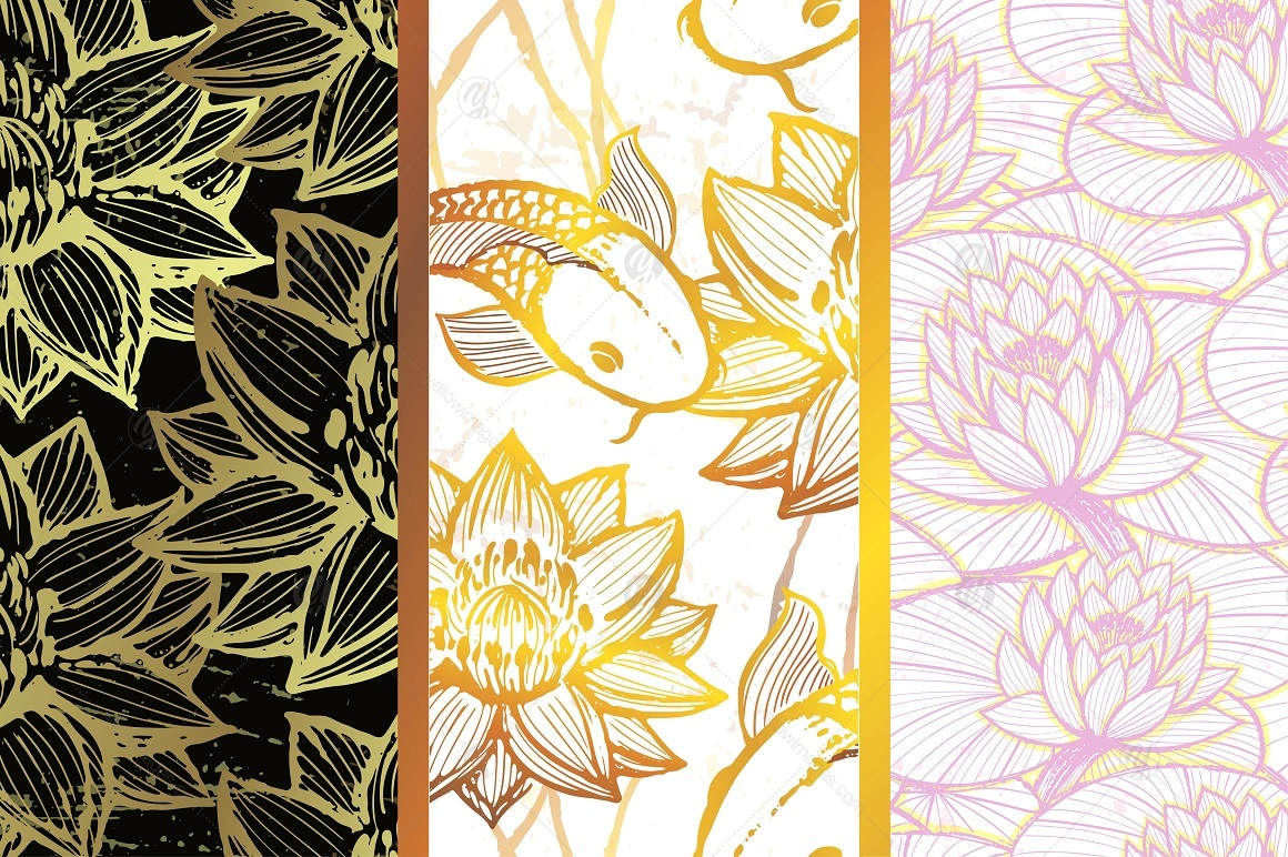 Golden Pond Pattern Collection