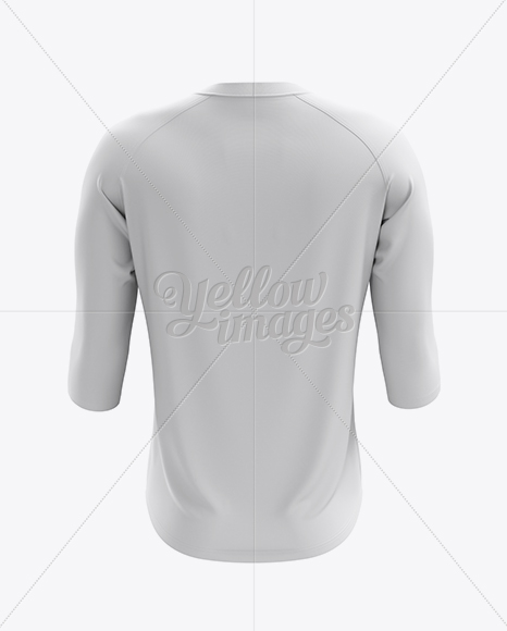 Download Lace Up Soccer T Shirt Mockup Back View Yellow Images