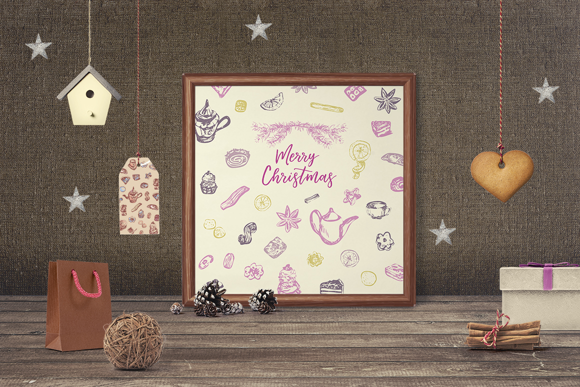 Sweet Christmas - vector collection