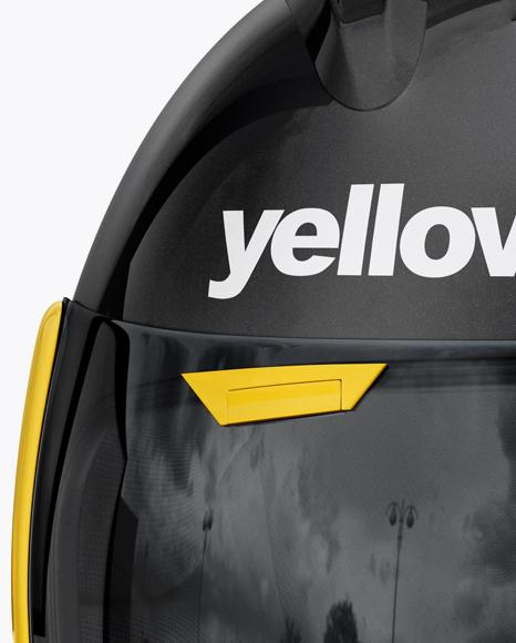 Moto GP Helmet Mockup - Front View