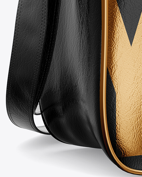 Download Leather Bag Mockup Back View Yellowimages