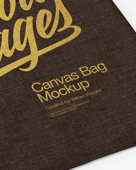 Download Canvas Bag Mockup Top View Yellowimages