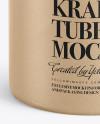 Kraft Tube Mockup - Front View (High-Angle Shot)