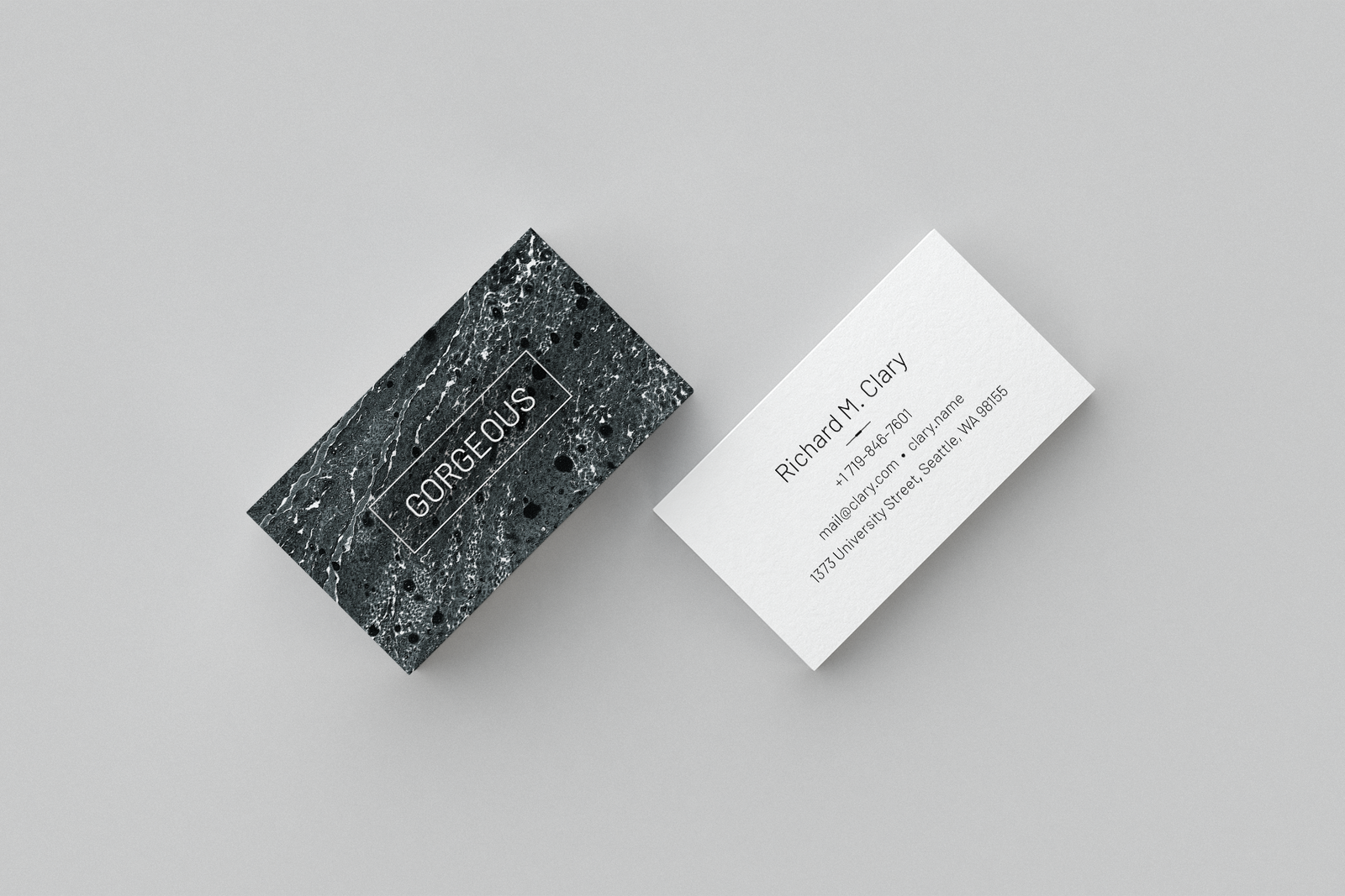 Gorgeous. Business card templates