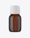 30ml Amber Glass Bottle Mockup