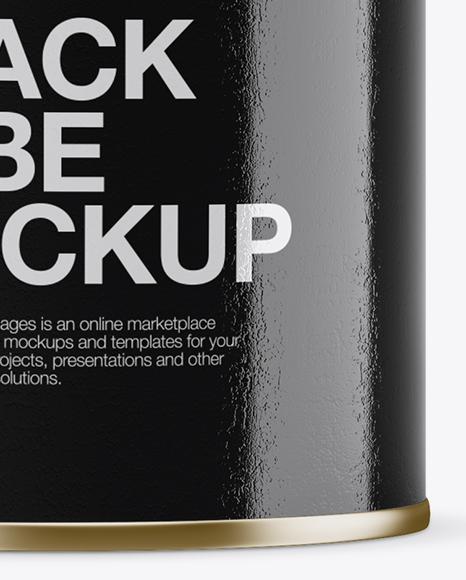 Download Medium Glossy Snack Tube Mockup High Angle Shot PSD - Free PSD Mockup Templates