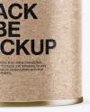 Kraft Paper Snack Tube Mockup