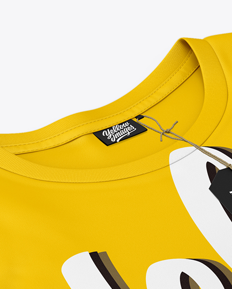 Download T Shirt Branding Label Mockup PSD - Free PSD Mockup Templates