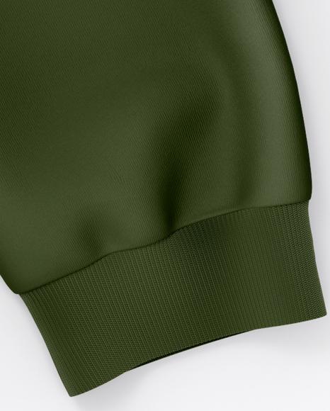 Sweatshirt Mockup - Top View