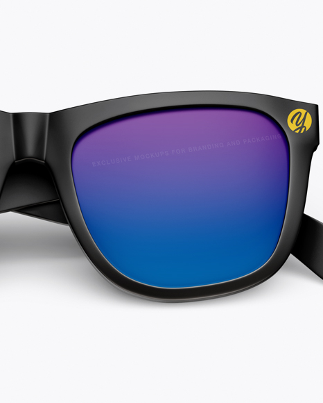 Sunglasses Mockup - Front view