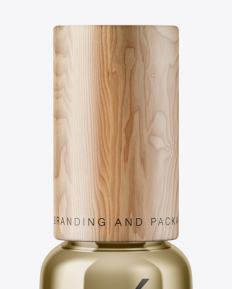 Download Metallic Cosmetic Bottle PSD - Free PSD Mockup Templates