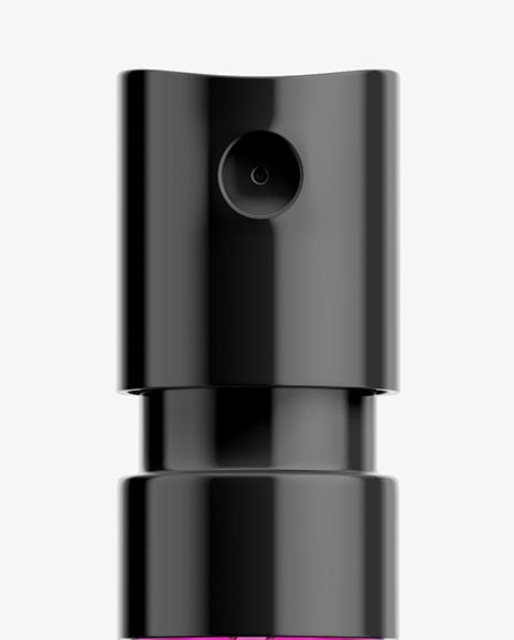 Glass Sample Vial Sprayer Mockup