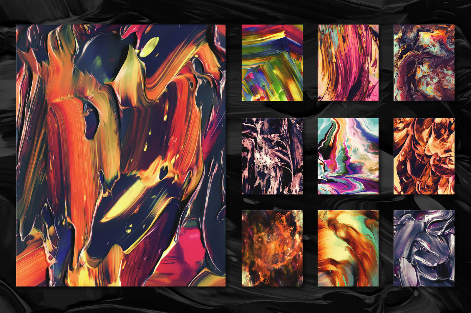 Flow, Vol. 2: 100 Fluid Abstract Paintings