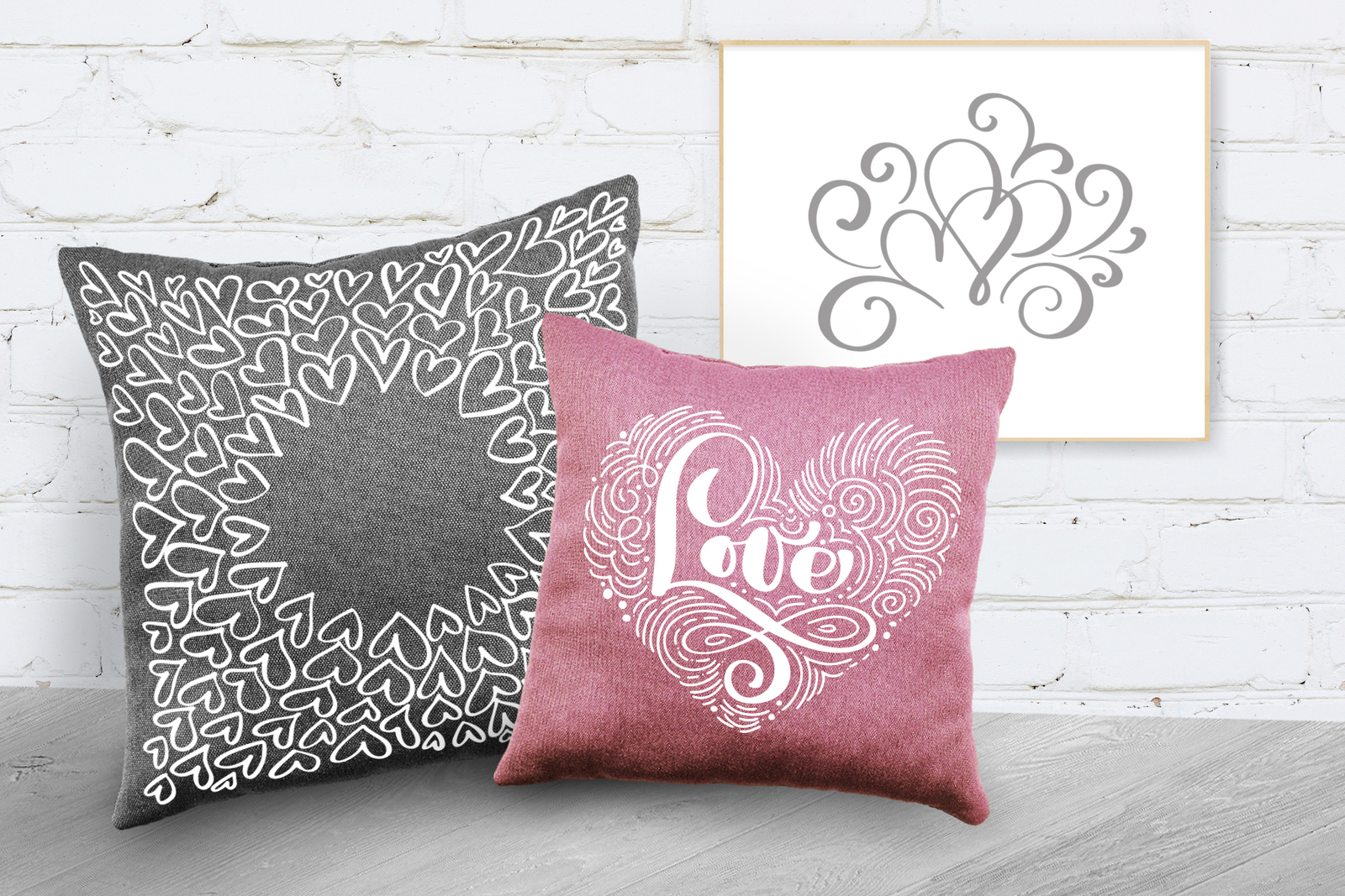 Valentines Hand Drawn Vector Collection