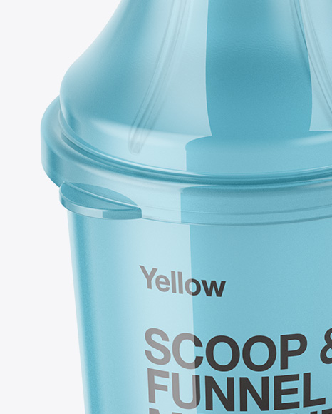 Scoop with Funnel Mockup