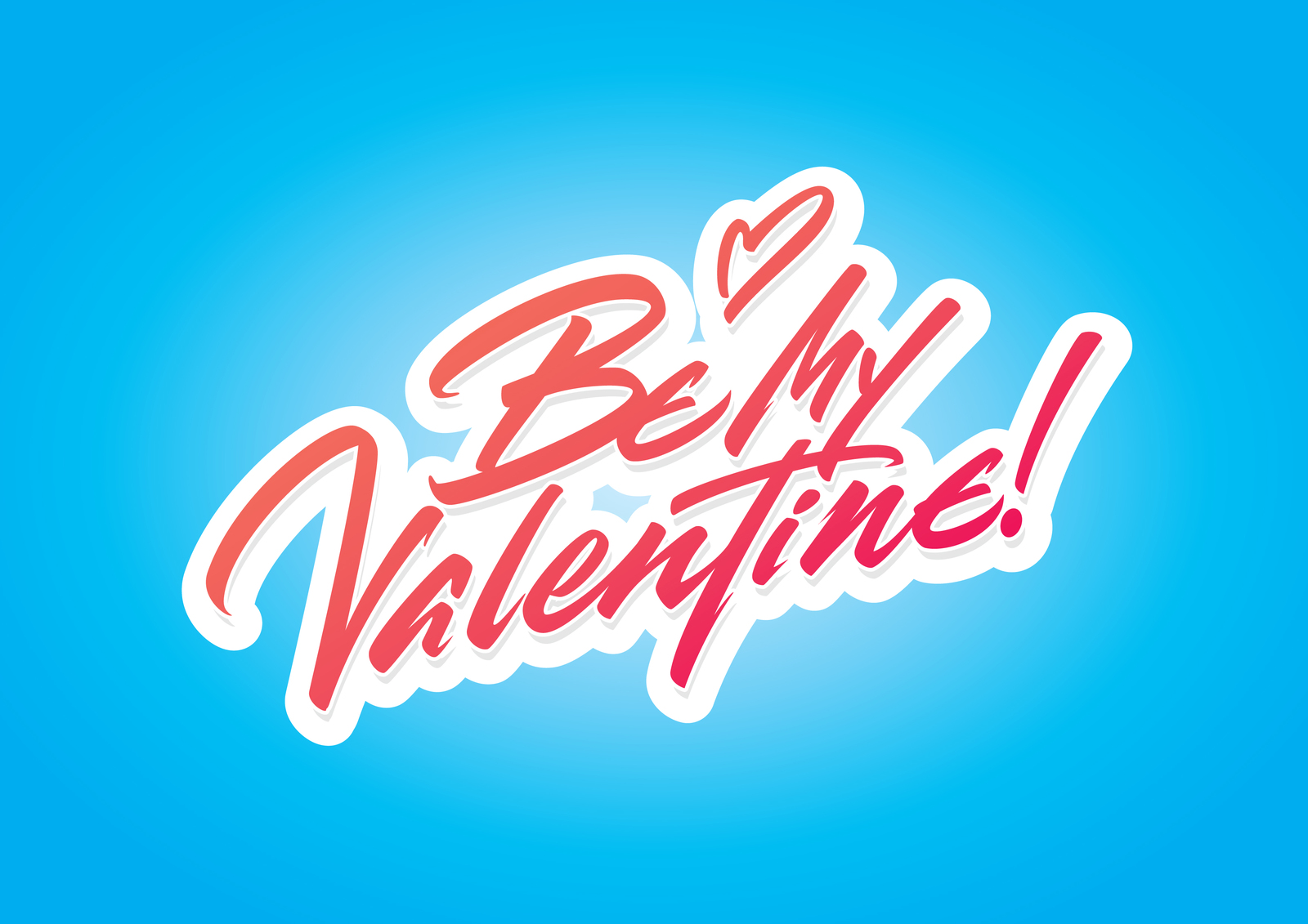 Be My Valentine vector script