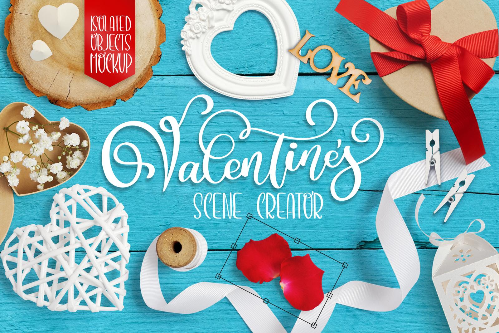 Valentine scene creator