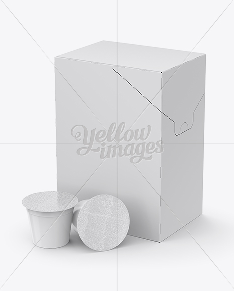 Download Matte Bag With Coffee Capsules Mockup PSD - Free PSD Mockup Templates