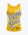 Tank Top Mockup - Front View