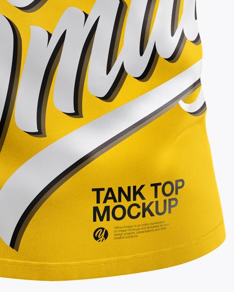 Tank Top Mockup - Front View