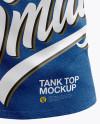 Melange Tank Top Mockup - Front View