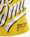 Tank Top Mockup - Half Side View