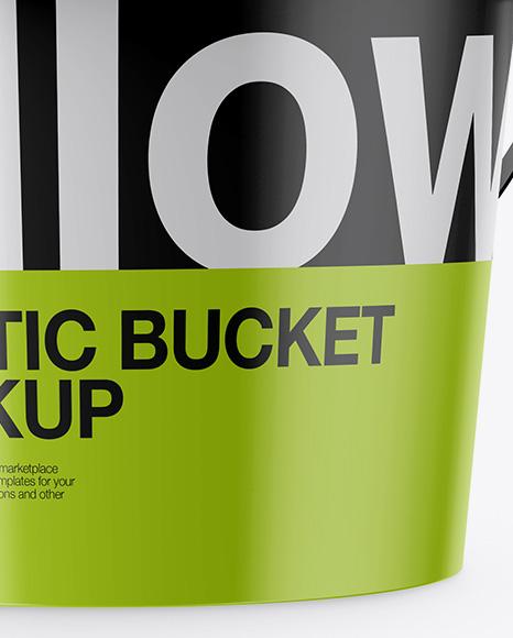 Download Matte Plastic Bucket Mockup PSD - Free PSD Mockup Templates
