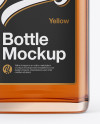 Whiskey Bottle Mockup - Front View