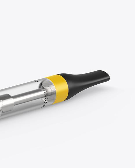 E-Cigarette Mockup - Half Side View