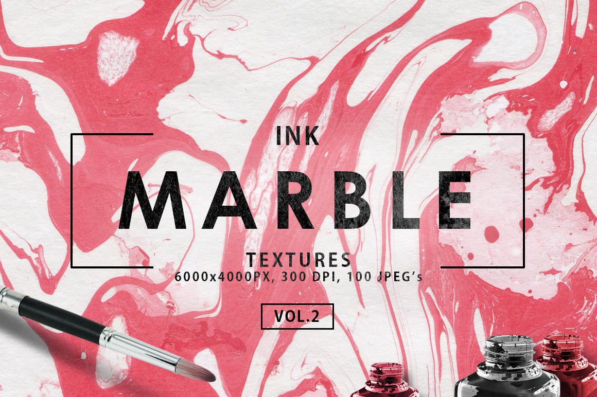 100 Ink Marble Paper Textures 2