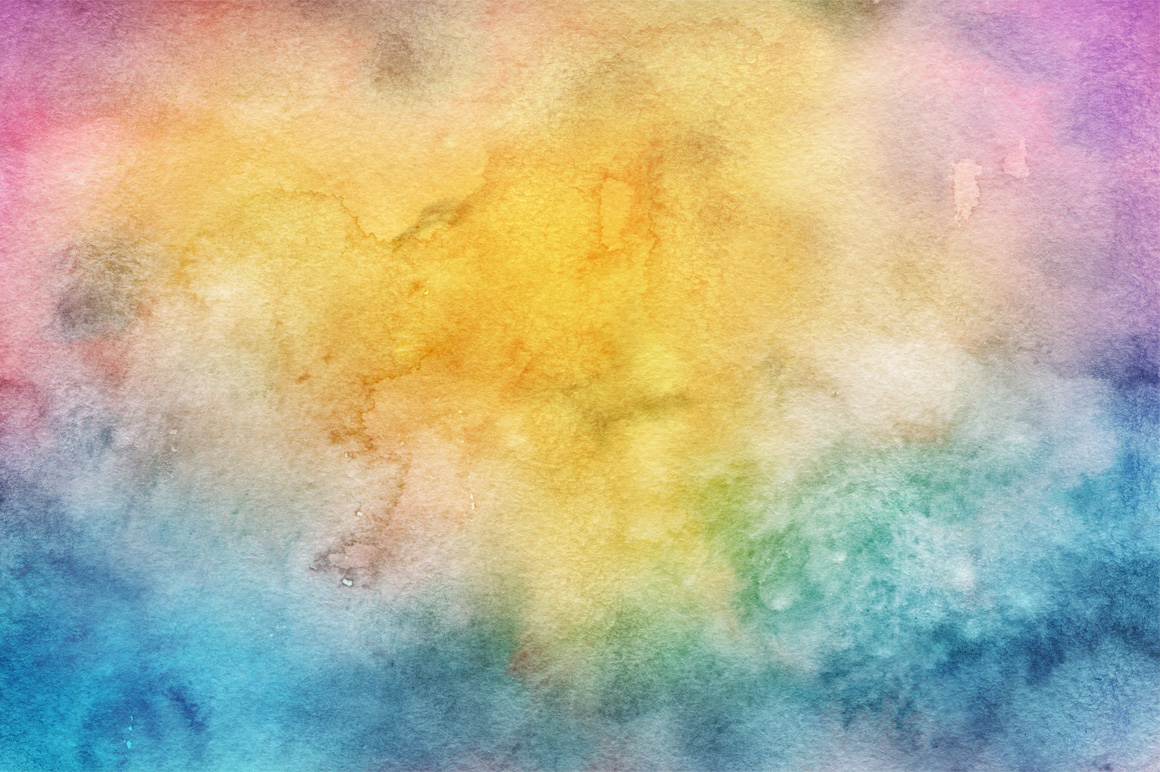 30 Spring Watercolor Backgrounds